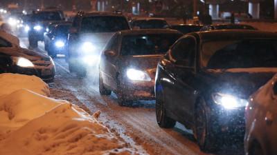 Пробки образовались на юге и юго-востоке Московской области