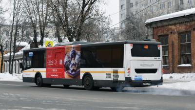 На автобусах появились изображения ремесленных изделий в рамках «Зимы в Подмосковье»