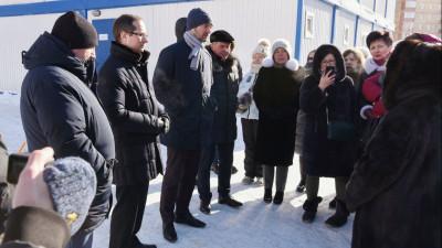 Роман Терюшков проинспектировал ход строительства школы в Раменском городском округе