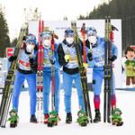 Российские биатлонисты – бронзовые призёры Чемпионата мира в эстафете