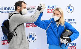 Скелетонисты Александр Третьяков и Елена Никитина – призёры Чемпионата мира в Германии