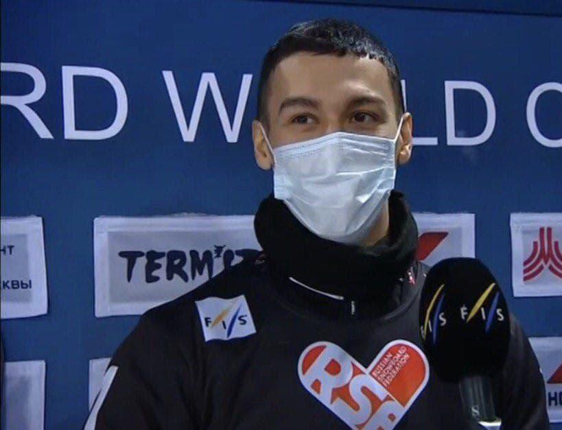 Сноубордист из Московской области стал лучшим на этапе Кубка Мира