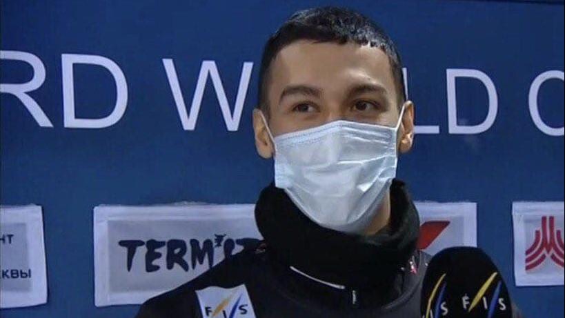 Сноубордист из Подмосковья стал лучшим на этапе Кубка мира