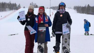 Сноубордистки из Подмосковья завоевали медали на Кубке России