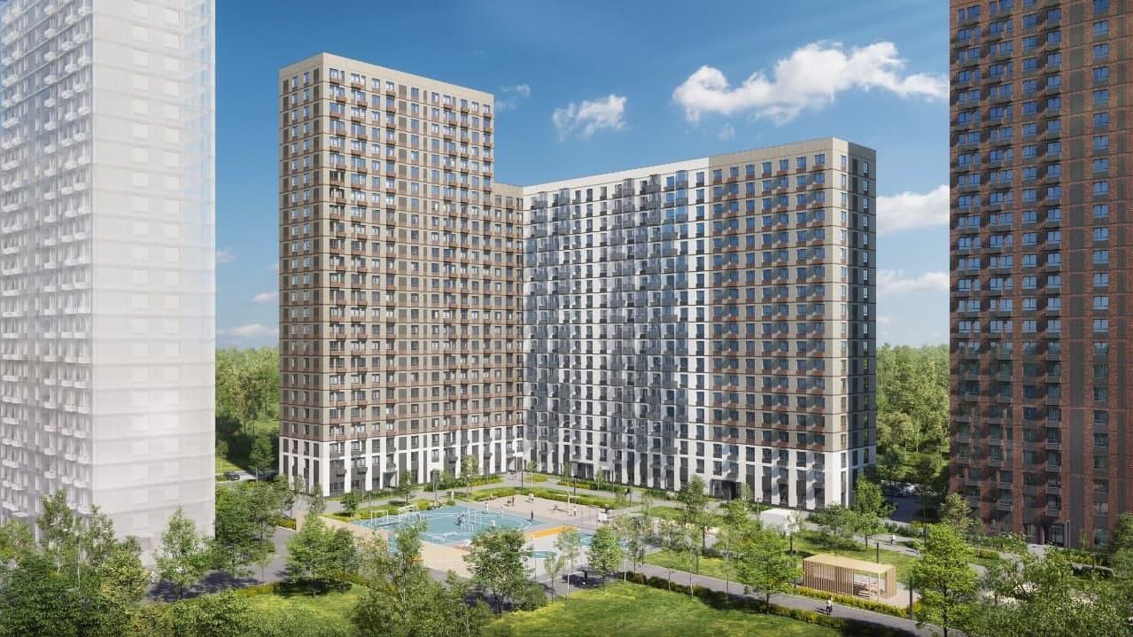 Строительство четырех многоквартирных домов началось в Красногорске