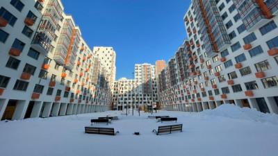 Строительство многоквартирного жилого дома завершается в Люберцах