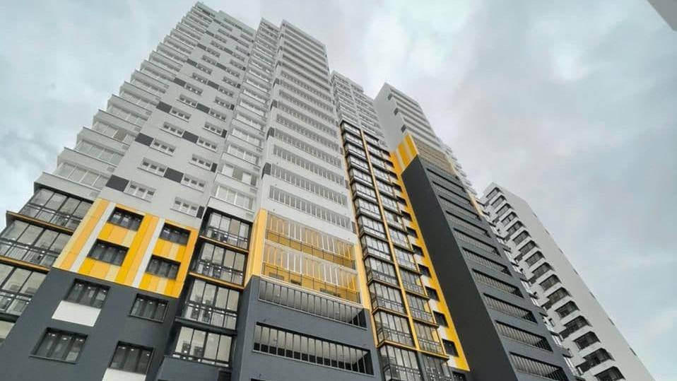 Строительство многоквартирного жилого дома завершили в Долгопрудном