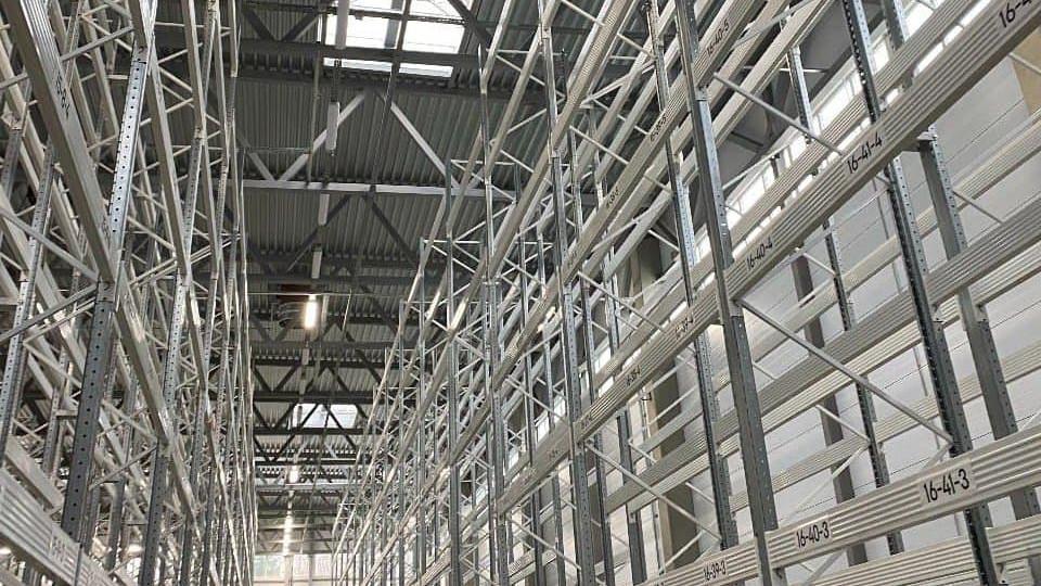 Строительство офисно-складского комплекса завершили в Ленинском городском округе