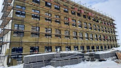 Строительство школы на 1,1 тыс. мест в микрорайоне Кузнечики Подольска завершат в августе