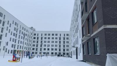 Строительство жилого дома в ЖК «Столичный» завершили в Балашихе