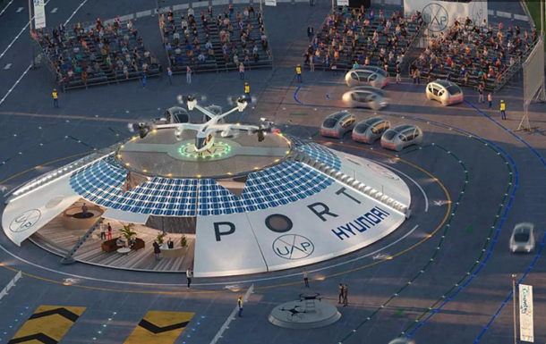 В Англии построят аэропорт для аэротакси и дронов
