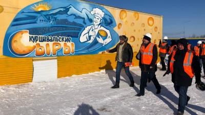 Воскресенский проверил ход работ на стройплощадке сырного кластера в Дмитровском округе