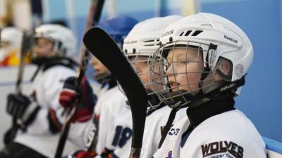 Второй этап соревнований клуба юных хоккеистов «Золотая шайба» стартовал в Наро-Фоминске
