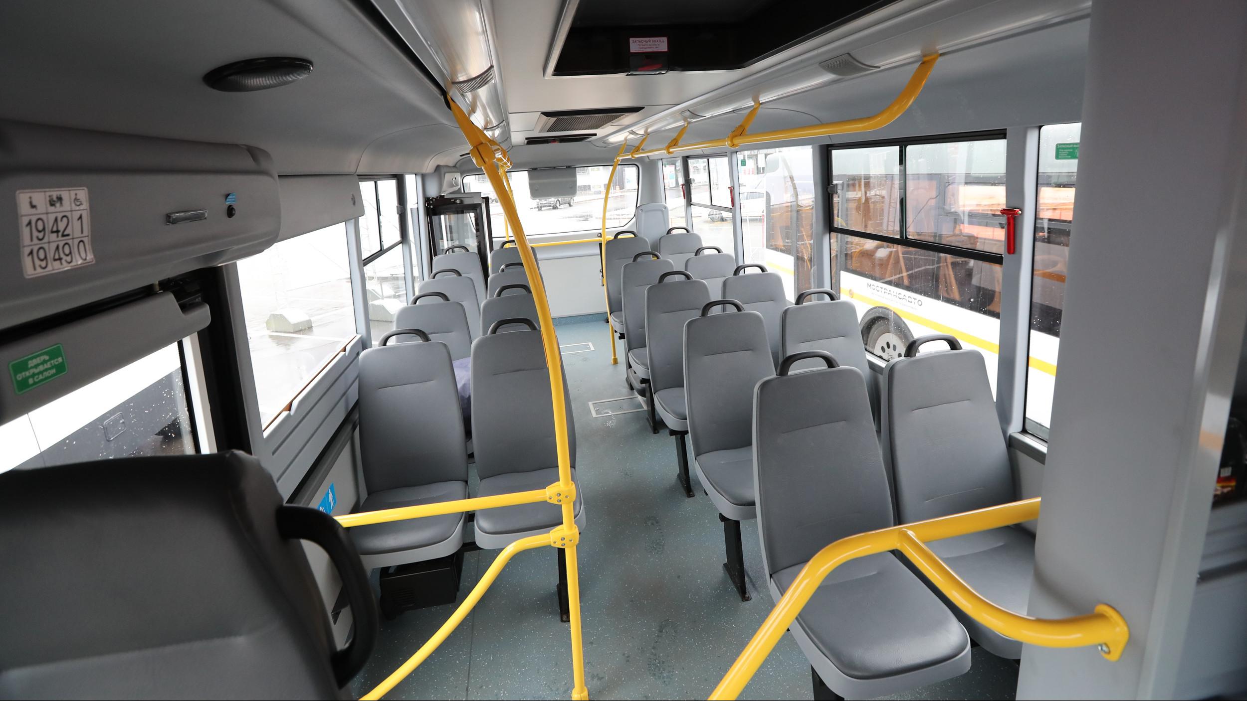 Вручение ключей от автобусов Мострансавто
