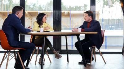 Андрей Воробьев дал интервью в эфире телеканала «360»