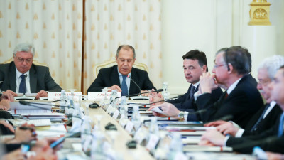 Андрей Воробьев поучаствовал в заседаниях наблюдательного и попечительского советов МГИМО