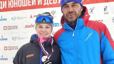 Биатлонистка из Подмосковья Наталия Федченко завоевала серебро на первенстве России