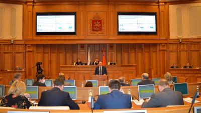 Бизнес-омбудсмен Подмосковья выступил в Мособлдуме с докладом об итогах работы в 2020 году