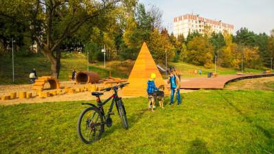 Более 30 парков благоустроят в Подмосковье в 2021 году