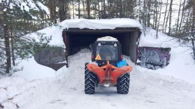 Более 40 снежных хранилищ создали в Подмосковье за два месяца