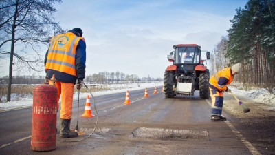 Более 52 тыс. ям ликвидировали на дорогах Подмосковья с начала года