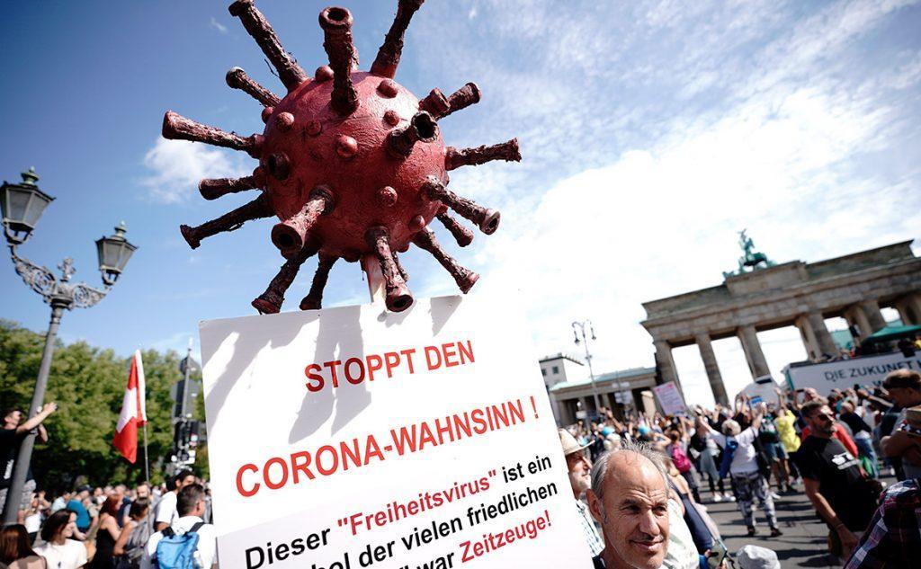 германия против карантинных ограничений