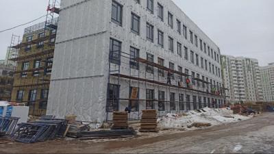Главгосстройнадзор начал плановую проверку хода строительства школы на 1,1 тыс. в Подольске