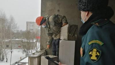 Главгосстройнадзор продолжает плановую проверку дома ЖК «Светолюбово» в Пушкине