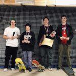 Юный спортсмен из Подмосковья стал победителем чемпионата ЦФО по скейтбордингу