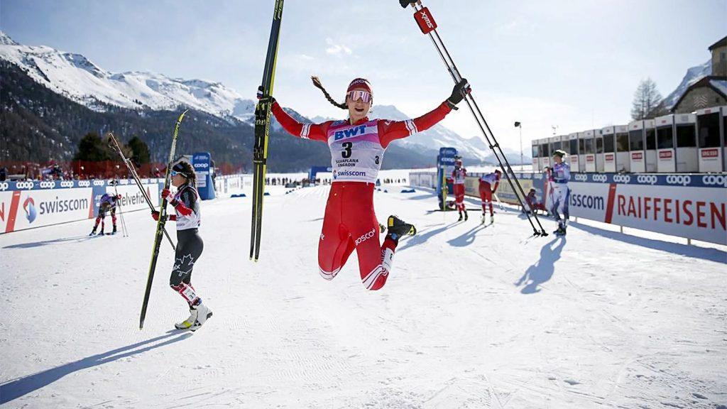 кубок мира по лыжам большунов и ступак победили в швейцарии