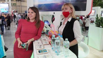 Наталья Виртуозова представила стенд Подмосковья на Международной туристической выставке MITT