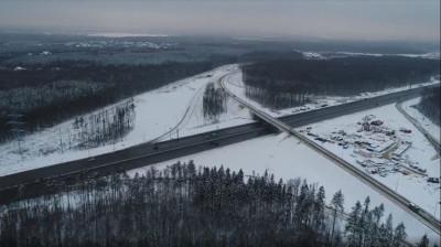 Около 230 тыс. автомобилей проехали по новой развязке в Трехгорке за два месяца