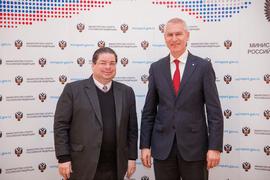 Олег Матыцин обсудил с Послом Доминиканской Республики перспективы двустороннего сотрудничества в сфере спорта