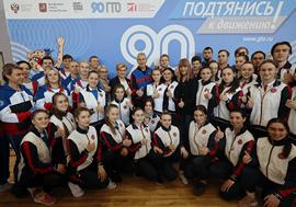 Олег Матыцин пообщался со студентами Спортивно-педагогического колледжа Москомспорта в Центре тестирования ГТО