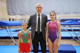 Олег Матыцин посетил Южный федеральный центр спортивной подготовки «Юг Спорт» в Сочи