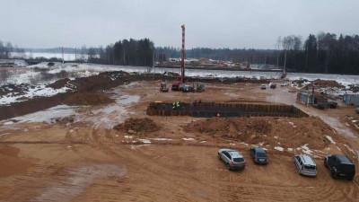 Первый этап строительства путепровода в Лобне планируют завершить в 2022 году