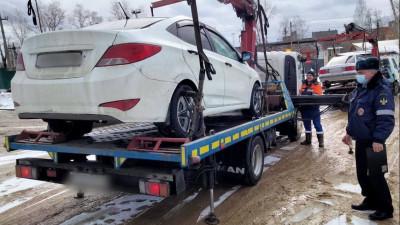 Почти 1,2 тыс. автомобилей такси проверили в Подмосковье на прошлой неделе