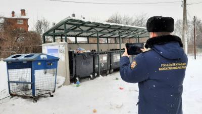 Подъездные пути к 606 контейнерным площадкам расчистили в Подмосковье