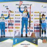 Подмосковная биатлонистка Анастасия Гореева завоевала золото и серебро на этапе Кубка Европы по биатлону