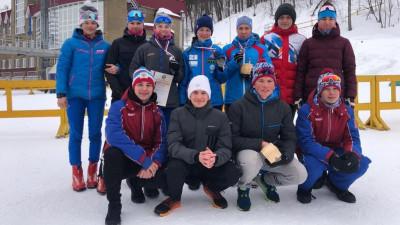 Подмосковная биатлонистка завоевала две серебряные медали первенства России