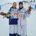 Подмосковная фристайлистка завоевала первое для России золото в парном могуле