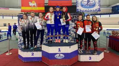 Подмосковные конькобежцы завоевали 18 медалей кубка России