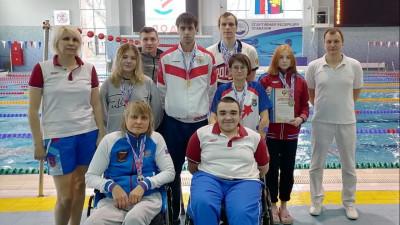 Подмосковные пловцы завоевали 10 медалей на чемпионате России среди спортсменов с инвалидностью