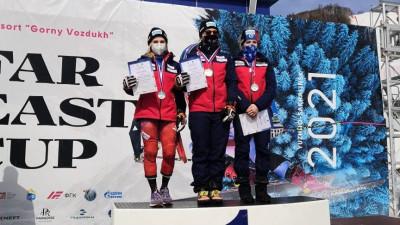 Подмосковные спортсмены завоевали шесть наград первенства России по горнолыжному спорту