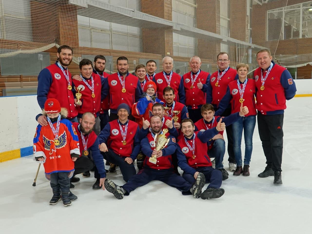 Подмосковный «Феникс» стал 7-кратным чемпионом России по следж-хоккею
