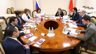Подмосковный Мининвест обсудил перспективы сотрудничества с Арменией