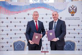 Подписано Соглашение о сотрудничестве между Минспортом России и Рособрнадзором