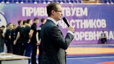 Роман Терюшков поучаствовал в церемонии открытия турнира по греко-римской борьбе в Раменском