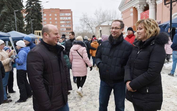 Роман Терюшков поздравил жителей Подмосковья с Масленицей