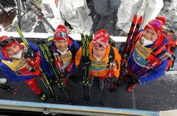 Российские лыжники выиграли «серебро» в эстафете на Чемпионате мира